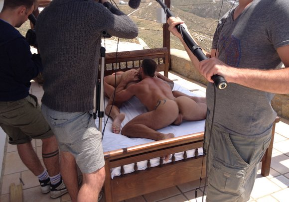 behind the scenes gay porn