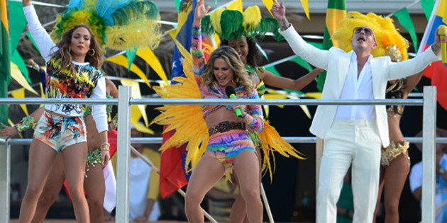 Escucha 'We Are One (Ole Ola)' de Jennifer López, Pitbull y Claudia Leitte