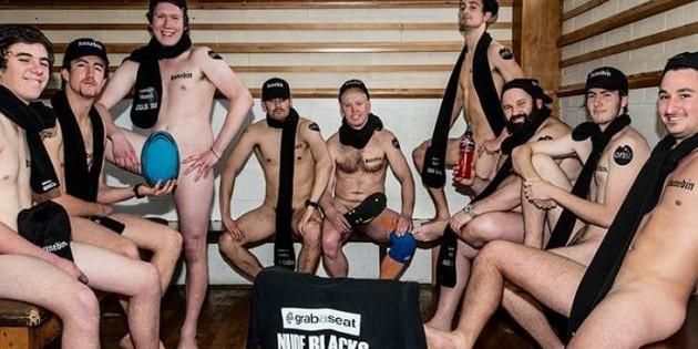 Los Nude Blacks De Nueva Zelanda: Rugby Al Desnudo