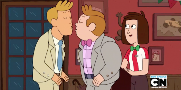 El primer beso gay en Cartoon Network fue censurado