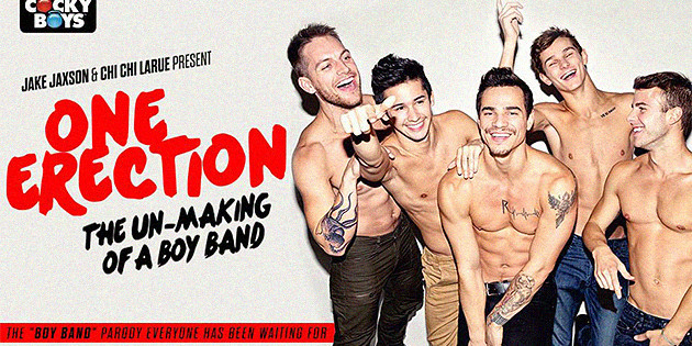 One Erection: la gayband porno que estabas esperando